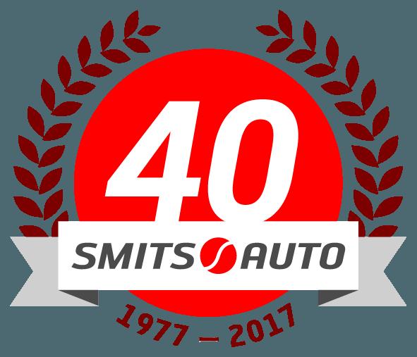40 jaar logo Smits Auto RGB
