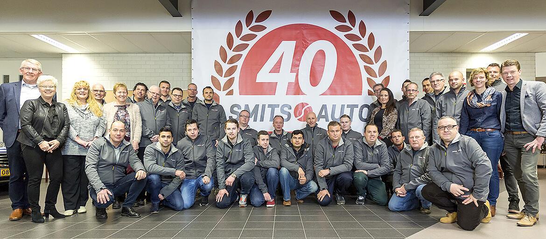 40 jaar team